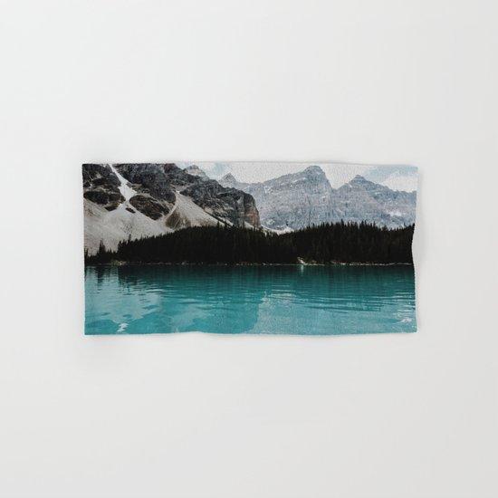 Lake Moraine, Banff National Park Hand & Bath Towel