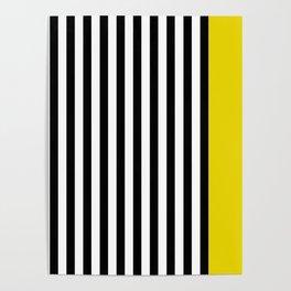 Liquorice allsorts, yellow Poster