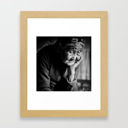 The Last Shaman Framed Art Print