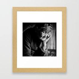 The Last Shaman Framed Art Print