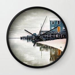 Provincetown Massachusetts Photograph Wall Clock