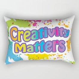 Creativity Matters Rectangular Pillow