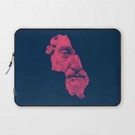 MARCUS AURELIUS ANTONINUS AUGUSTUS / prussian blue / vivid red Laptop Sleeve