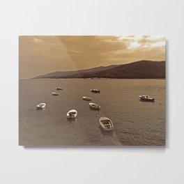 Small Boats Metal Print