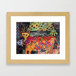 Antilopes Framed Art Print