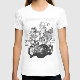 Babas on Bikes T-shirt