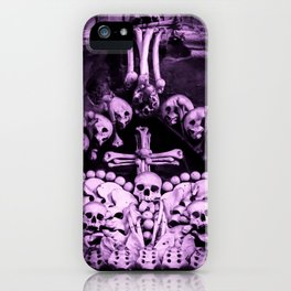 Santa Muerte Crown iPhone Case