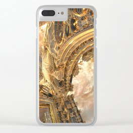 Highway by the Sun Clear iPhone Case