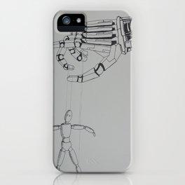 Mechanical Hand iPhone Case