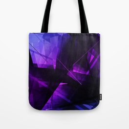 Vanquish - Geometric Abstract Art Tote Bag