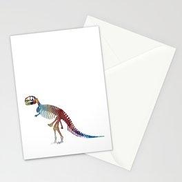 Tyrannosaurus Skeleton Stationery Cards
