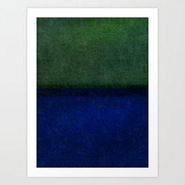 Imagining Rothko #13 Art Print