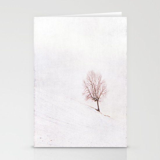 Lone Tree {Textured}  Stationery Cards