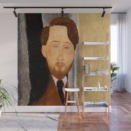 "Amedeo Modigliani ""Portrait of Léopold Zborowski"" Wall Mural"