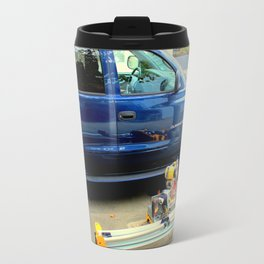 Wheel-of-fortunate Street Trash Travel Mug