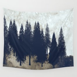 Whispering Evergreens Wall Tapestry