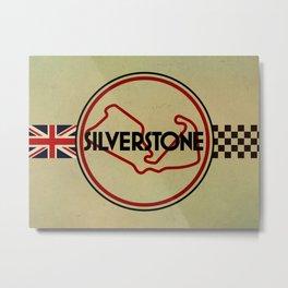 Silverstone, gentlemen racing Metal Print