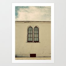 Two Windows Art Print
