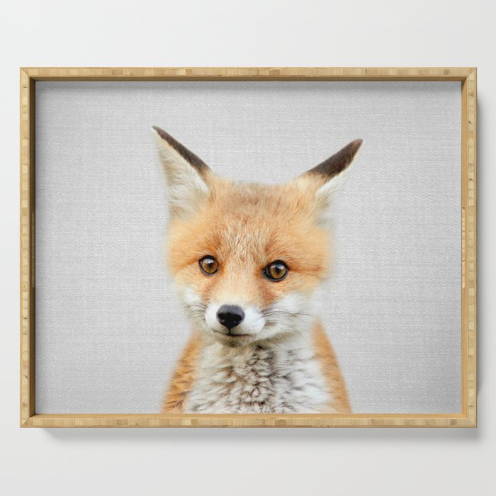 Baby Fox - Colorful Serving Tray
