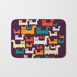 City Of Kitties Pattern Bath Mat