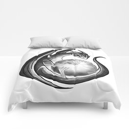 Scrying Dragon Comforters