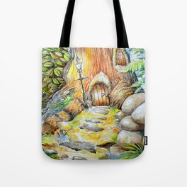Fairy Doors Tote Bag