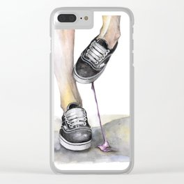 If Moday was a bubble gum... Clear iPhone Case