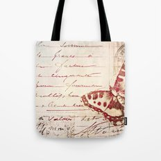 red winged Tote Bag