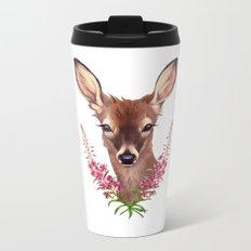 Fireweed Deer Metal Travel Mug