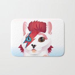 a cat insane Bath Mat