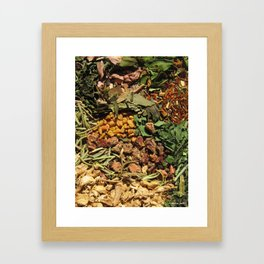Friday's Tea Framed Art Print
