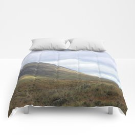 The curve of time spent in Glen Etive Comforters
