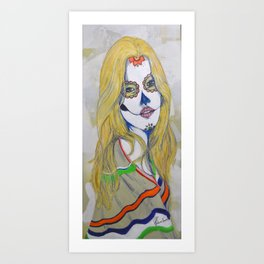 """Guera"" or ""Blondie"" Art Print"