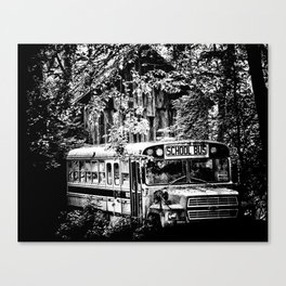 Out of Commission Canvas Print