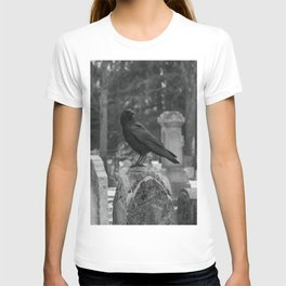 Crow In Shades Of Stone T-shirt