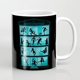 Silly Walking Coffee Mug