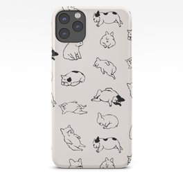 More Sleep Frenchie iPhone Case