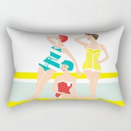 Beach Babes Rectangular Pillow