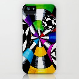 Optical Illusion Art iPhone Case