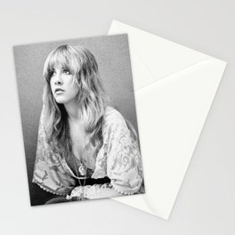 Young Stevie Nicks Photograph Stunning 1977 Portrait of Stevie Stationery Cards