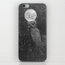 Moon Head iPhone Skin