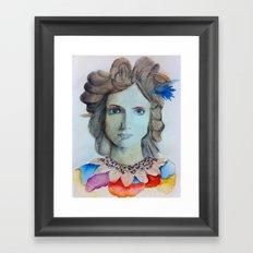 Ivanka Framed Art Print
