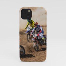 Motocross race iPhone Case