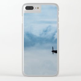 Battle of Britain Spitfire Clear iPhone Case