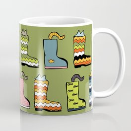 Cats in Boots Coffee Mug