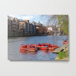 York pleasure boats Metal Print