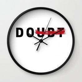 NO DOUBT Wall Clock