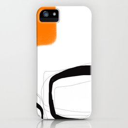 Blocks-Orange Crowd  iPhone Case
