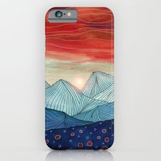 Lines in the mountains IV iPhone 6s Slim Case