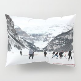 Winter in Lake Louise Pillow Sham